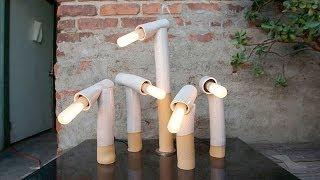 Дизайнерская лампа настольная