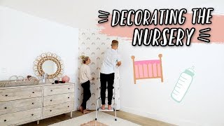 DECORATING THE BABY NURSERY... AGAIN!! by Aspyn + Parker