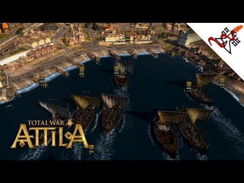 Total War: Attila - 3v3 Battle of Thessalonica | Multiplayer Online Gameplay
