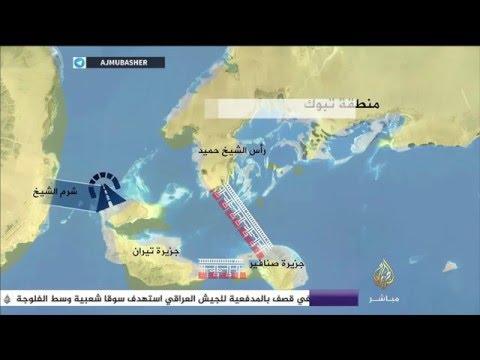 تفاصيل مشروع الجسر الذي يربط بين مصر والسعودية