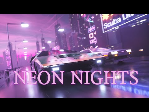 NEON NIGHTS' | A Synthwave and Retro Electro Mix