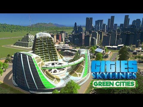 Cities Skylines Green Cities - Стрим! \