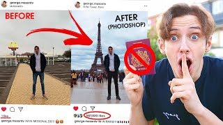 Video I FAKED going on HOLIDAY for a whole WEEK  *PHOTOSHOPPING MY INSTAGRAM* PRANK MP3, 3GP, MP4, WEBM, AVI, FLV Juli 2019