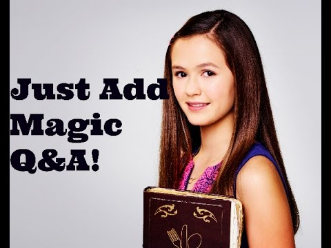 Just Add Magic Q&A with Olivia Sanabia + MORE EPISODES????