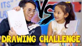 Video Kid VS Adult: Who Can Draw Better? MP3, 3GP, MP4, WEBM, AVI, FLV April 2019