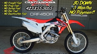 7. 2016 CRF450R Review of Specs - 450R SALE Price @ Honda of Chattanooga TN CRF Dirt Bikes