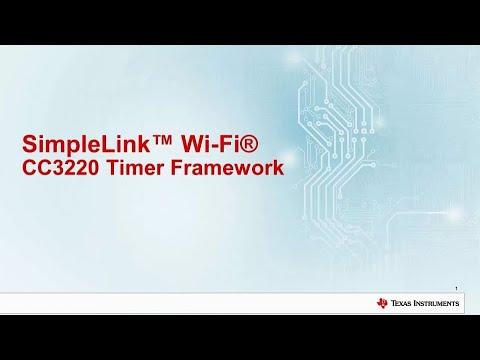SimpleLink™ Wi-Fi® CC3220 Timer Framework