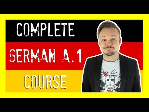 Learn German For Beginners 🇩🇪 The Complete Course (Level A.1) | Get Germanized (видео)