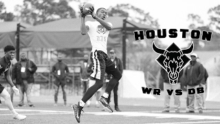 Nike Football's The Opening Houston 2017 | WR vs DB 1 on 1's