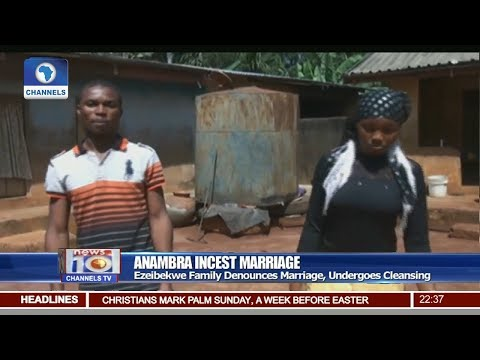 Incest Marriage: Family Denounces Marriage, Undergoes Cleansing