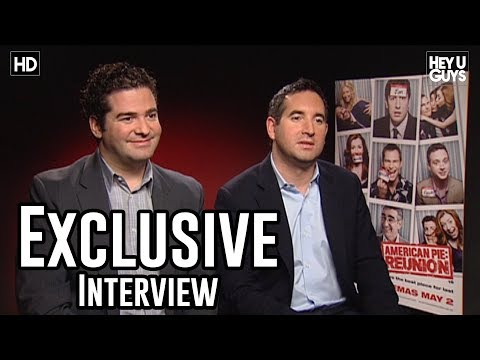 Hayden Schlossberg - Ben Mortimer from HeyUGuys interviews Directors Directors Jon Hurwitz and Hayden Schlossberg for their new movie, American Pie: Reunion or American Reunion i...