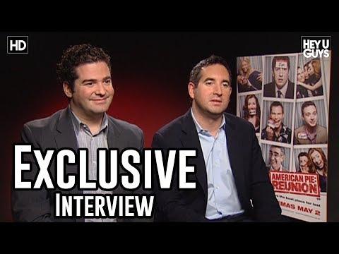 Hayden Schlossberg - Ben Mortimer from HeyUGuys interviews Directors Directors Jon Hurwitz and Hayden Schlossberg for their new movie, American Pie: Reunion or American Reunion i...