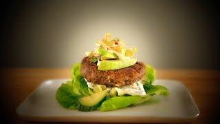 Quinoa & Black Bean Veggie Burger Strangewich by Tastemade