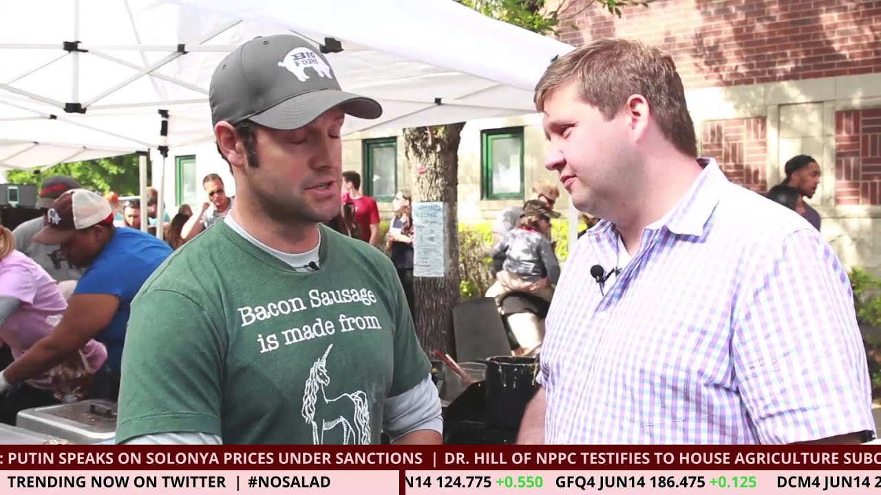 Bacon Network News at Ribfest Chicago 2014: Big Fork Bacon Sausage