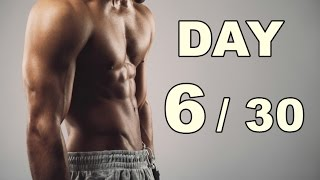 Day 6/30 Abs Workout (30 Days Abs Workout) Home Workout