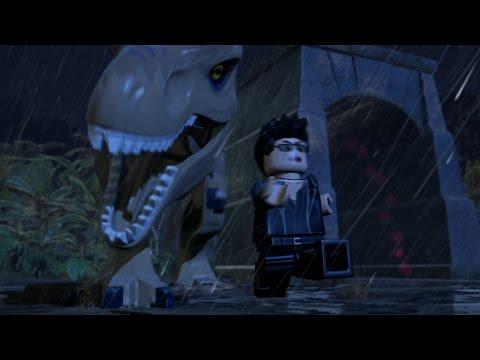 LEGO JURASSIC WORLD - EL ATAQUE DEL T-REX!