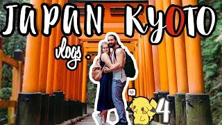 Discover the amazing KYOTO with us through its small streets, incredible temples & castle ! Fushimi Inari was so beautiful !