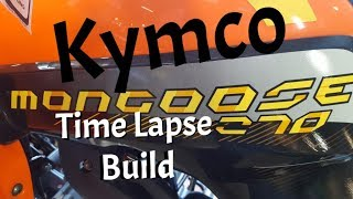 6. Time Lapse ATV build Kymco Mongoose 270