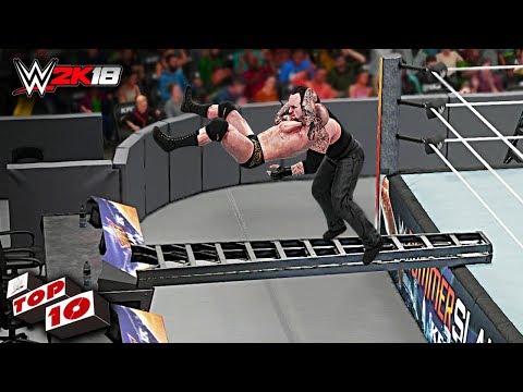 WWE 2K18 Top 10 Extreme RKO's!!