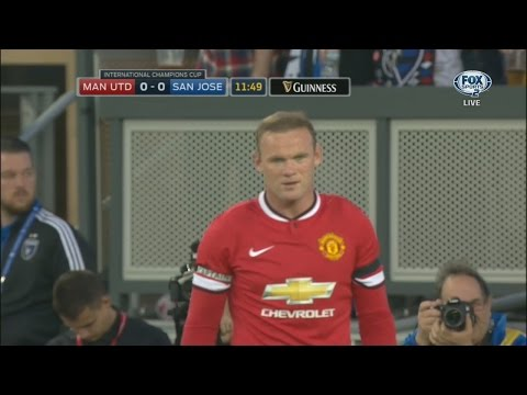 Wayne Rooney vs San Jose Earthquakes Neutral HD 720p50fps (22/07/2015) by WayneRooney10i