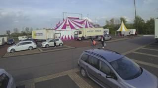Circus vetrekt van de Westmaat