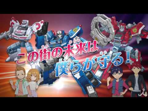¡Takara Tomy anuncia su primer anime, Drivehead!