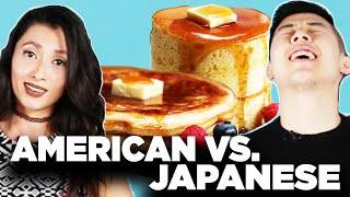 Video American Vs. Japanese: Pancakes MP3, 3GP, MP4, WEBM, AVI, FLV Agustus 2018