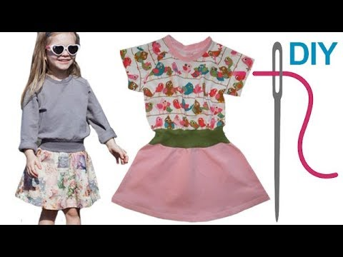 """Kleid / Jerseykleid / Sommerkleid / einfaches Kleid selber nähen """"RIKE"""" – für Nähanfänger"""