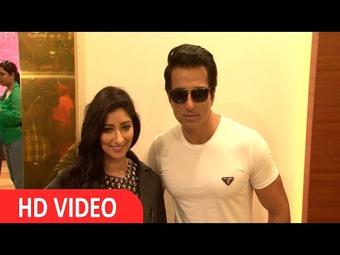Sonu Sood At Trailer Launch Of Film Warrior Savitri