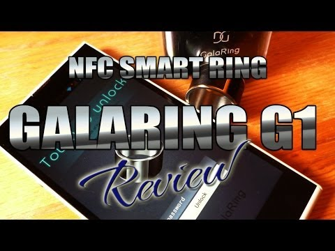 Galaring G1 Review – NFC Smart Ring – Wearable Technology – iNew V3 unlocking  – ColonelZap