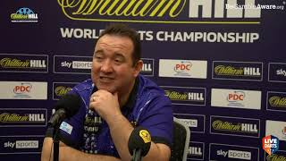 """Gabriel Clemens on facing Peter Wright at the World Championship: """"It's the best thing for me"""""""