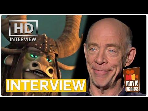 Kung Fu Panda 3 | J.K. Simmons is Kai Exclusive interview