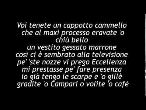 , title : 'Fabrizio De andrè - Don Raffaè. con testo'