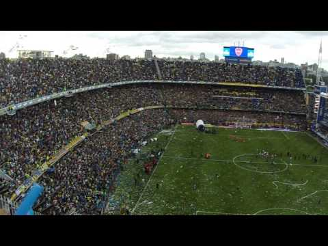 Video - SALIDA DE BOCA - SUPERCLÁSICO - MARZO 2014 - La 12 - Boca Juniors - Argentina