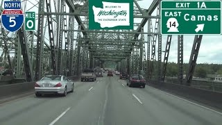 Vancouver (WA) United States  city photo : Interstate 5 North in Vancouver, Washington