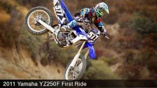 10. MotoUSA 2011 Yamaha YZ250F First Ride Video