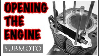 3. Disassembling an SR500 engine