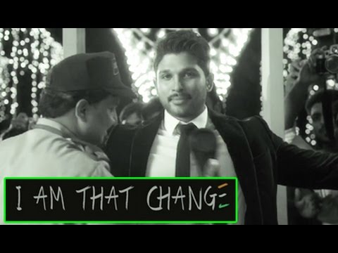 I am that change short film || Allu Arjun