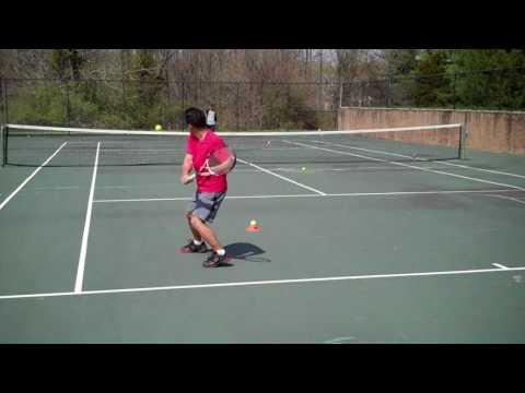 Tennis Practice: Ground Strokes