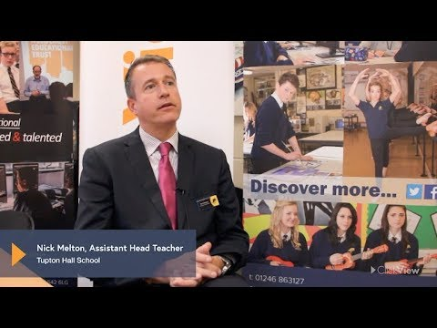 ClickView at Tupton Hall School