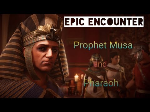 Prophet Musa And Firoun Epic Encounter Between Moses And Pharaoh Part 1