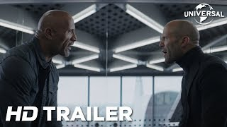 Fast & Furious: Hobbs & Shaw – Officiële trailer (Universal Pictures) HD