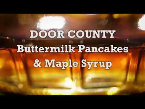 Savor Door County - Buttermilk Pancakes with Maple Syrup