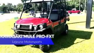 10. Kawasaki Mule Pro-FXT