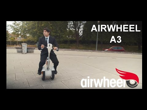 Видео Airwheel A3