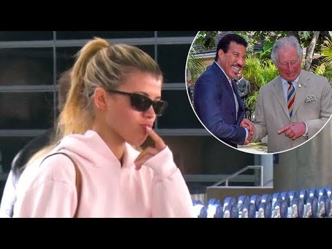 Sofia Richie Rates Father Lionel Richie And Prince Charles' Fitness Levels!