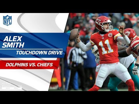 Video: Alex Smith Makes Spectacular Throws on TD Drive vs. Miami! | Can't-Miss Play | NFL Wk 16 Highlights