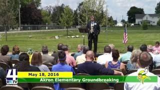Akron Elementary School Groundbreaking