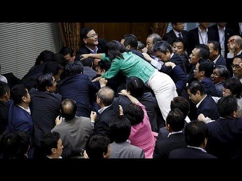 Μαζική αντίδραση στο νέο νόμο για την ασφάλεια στην Ιαπωνία