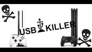 USB vs PS4 ultimate battle of death explosion | Homemade